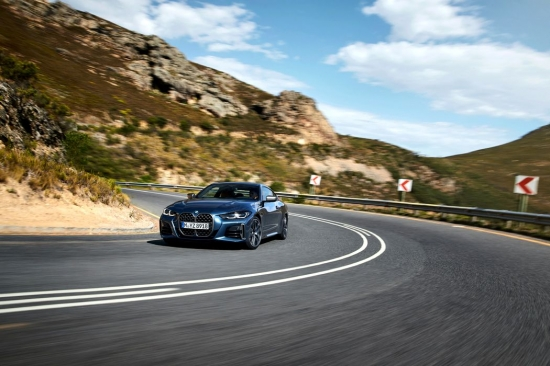 BMW 4 Series Coupé: the debut of the new design