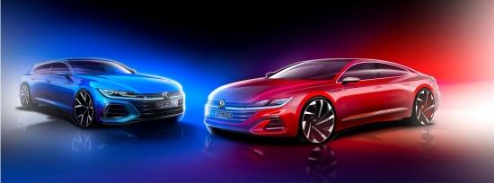 Jaunais Volkswagen Arteon: kā viņš izskatās un ja viņš tiks oficiāli prezentēts?