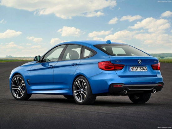 What are the actual size differences between the BMW 3 Series and the BMW 3 Series GT