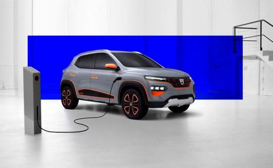 Ko saka vadītājs, dizaina Renault par gaidāmo elektrības Dacia