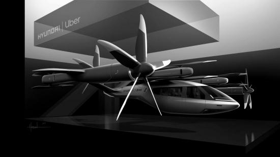 Uber и Hyundai объявили о партнерстве для разработки летающих такси