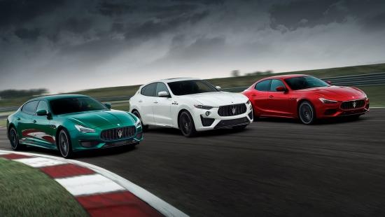 Maserati Ghibli un Quattroporte pievieno Trofeo sastāvam